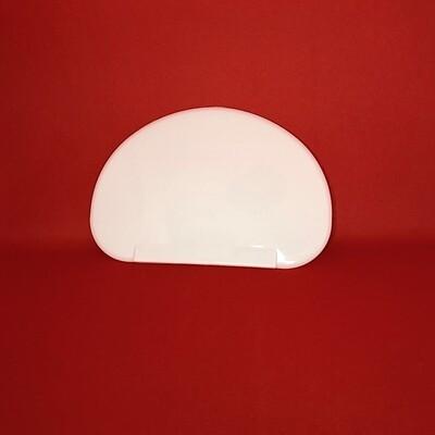 Кондитерский скребок полукруглый (1) размер 15*10 см