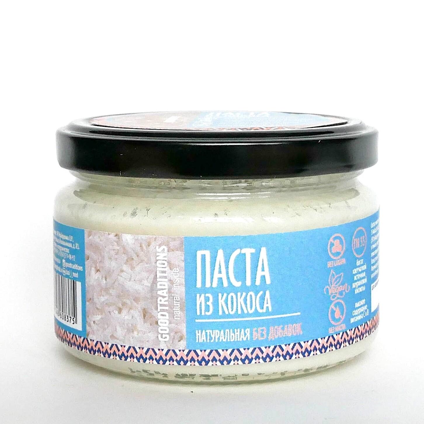 Паста из мякоти кокоса без добавок и сахара | 0.2 - 1 кг
