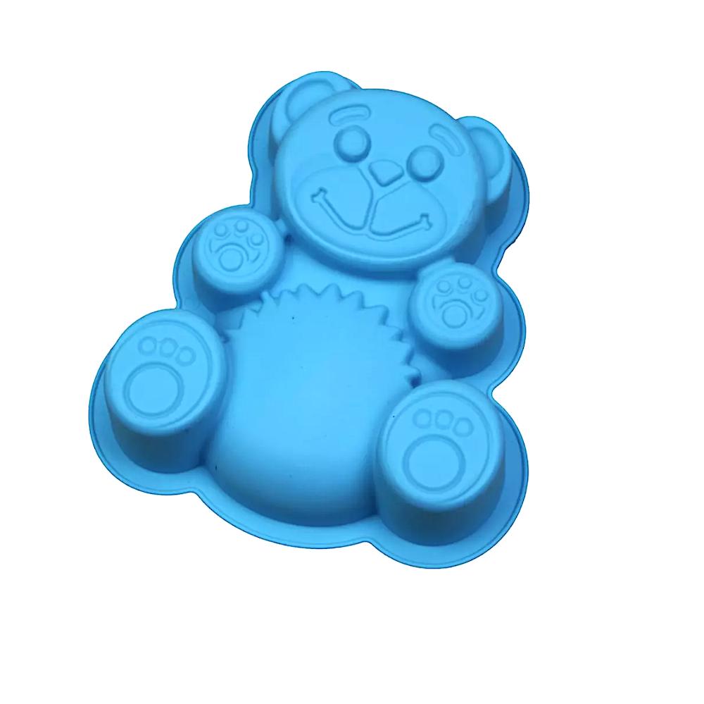 Силиконовая форма Весёлый Медведь
