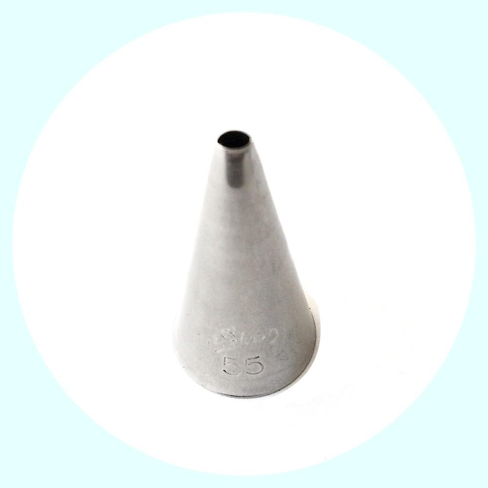 Кондитерские насадки для завитков и стеблей №55, 58 Ateco | Овал