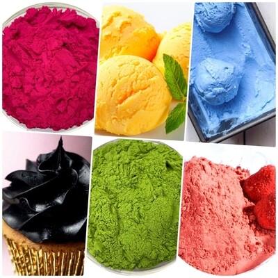 Средний набор натуральных красителей 6 цветов*50г
