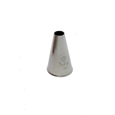 Кондитерская насадка трубочка №10 Tulip™ | d 6.4 mm