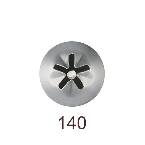 Кондитерская насадка звезда закрытый центр (сирень) №140 Tulip™