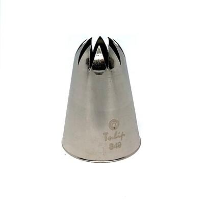 Кондитерская насадка закрытая звезда №849 Tulip™ (diam.11 mm; 10лучей)