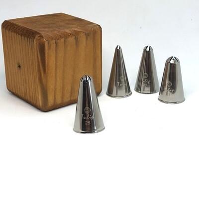 Кондитерская насадка закрытая звезда №28 Tulip™ малый размер (diam.7,6 mm; 8 лучей)
