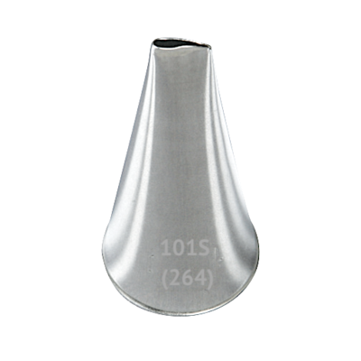 Кондитерская насадка лепесток прямой №101S (264) Tulip™ | малый размер