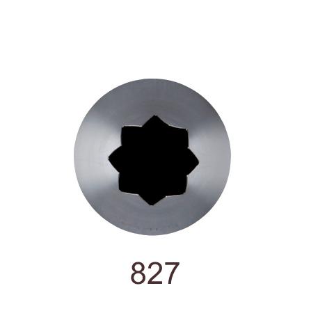 Кондитерская насадка открытая звезда №827 Tulip™ (diam.14,5 mm; 8лучей)