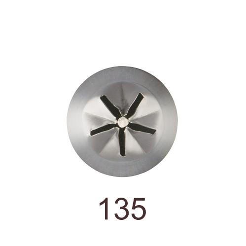 Кондитерская насадка звезда закрытый центр (сирень) №135 Tulip™   медиум размер