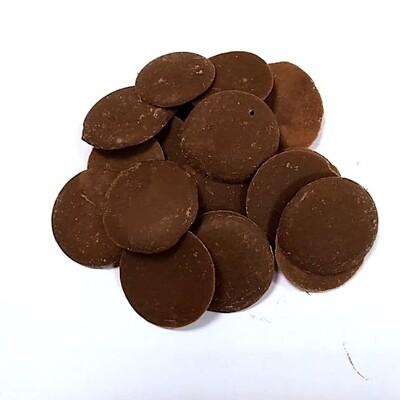 Шоколад Молочный Крем Брюле 40% монеты (Фанси)   0.5 - 10 кг