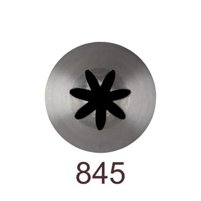 Кондитерская насадка закрытая звезда №845 Tulip™ (diam.7 mm; 7лучей)