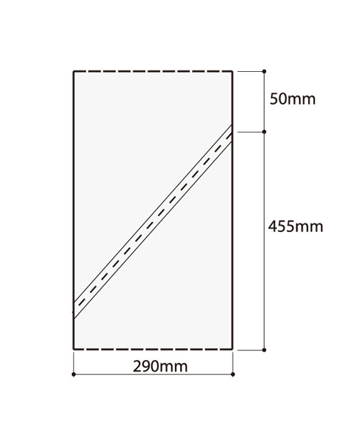 Кондитерские мешки плотные высота 45, 55, 65 см | упаковка 200 шт