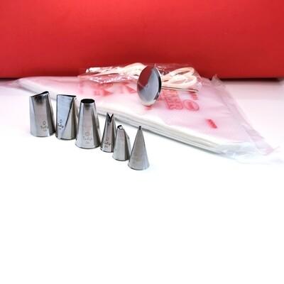 Набор кондитерских инструментов 9 шт | от Tashas Cake (верс.2)