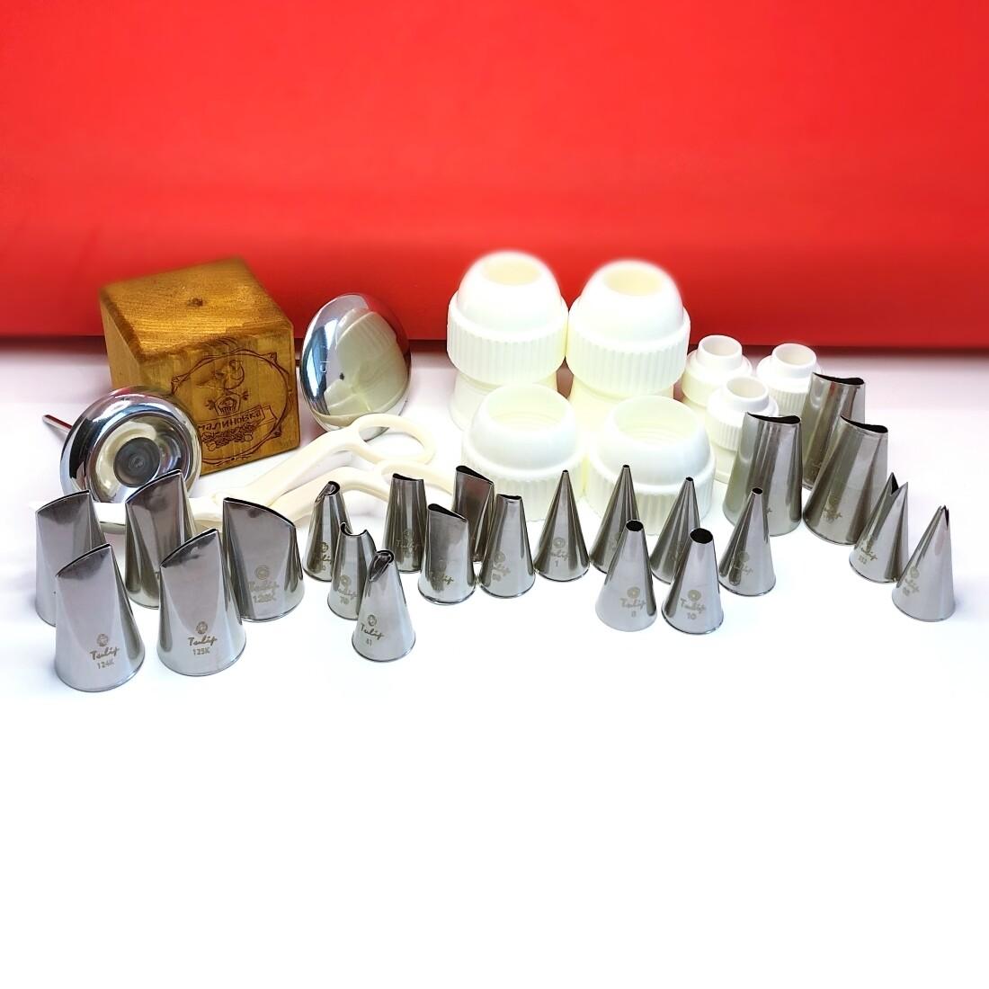 Набор (большой) кондитерских инструментов 32 шт | МК Кремовая Флористика от Малиновки