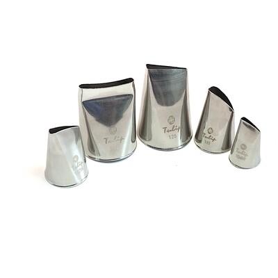 Кондитерские насадки Зефирные лепестки №104W, 127W, 183, 128, 873 Tulip™ | набор 5 шт