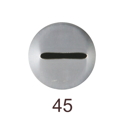 Кондитерская насадка лента №45 Tulip™ (Smooth Basketweave)