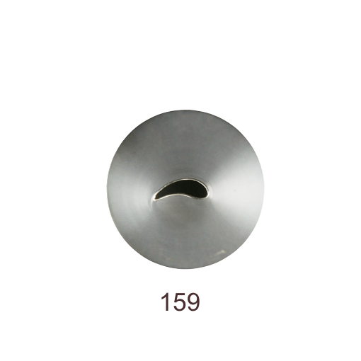 Кондитерская насадка лепесток изогнутый №159 Tulip™ | малый размер