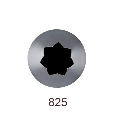 Кондитерская насадка открытая звезда №825 Tulip™ (diam.11,5 mm; 7лучей)