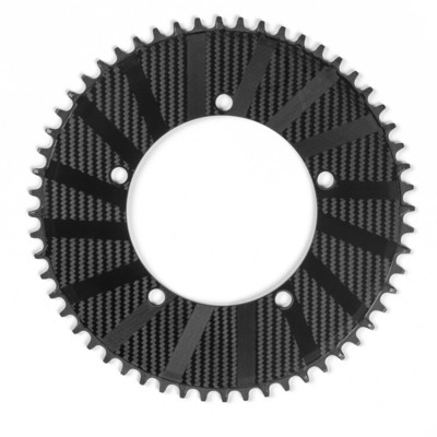 Digirit 1x Carbon Chain Ring 56T 110 4 Bolt Road/TT