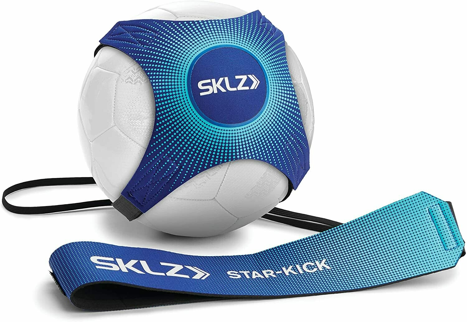 StarKick Hands Free Solo Soccer Trainer- Fits Ball Size 3, 4, and 5