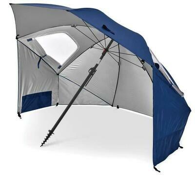 SKLZ SportBrella Premiere Blue: SPF50+ Rain, Wind, Sun Protection