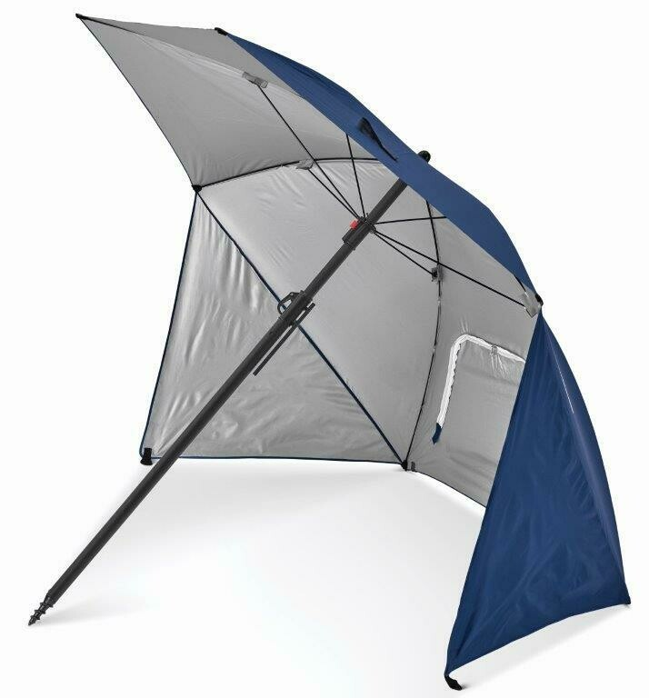 SportBrella Pure Lite 2metre UPF50+ Lightweight Umbrella Shelter. Blue