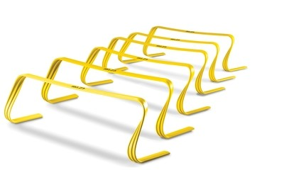 SKLZ Hurdles 6-pack: Durable, All Purpose Speed Training, Agility, and Plyometric Hurdles