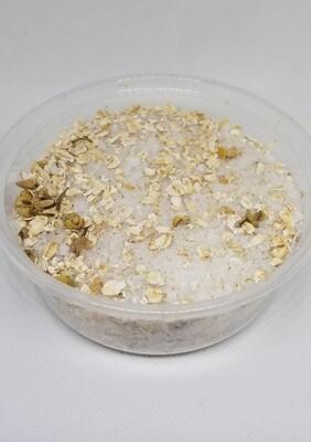 Chamomile and oats salt bath