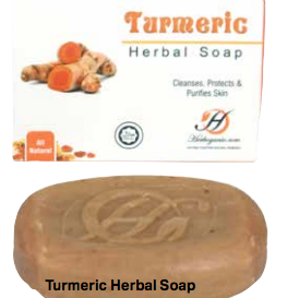 Raw Turmeric Soap