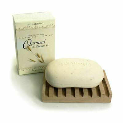 Oatmeal and vitamin E soap