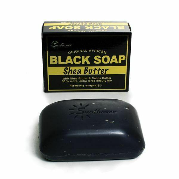 Shea Butter Black Soap