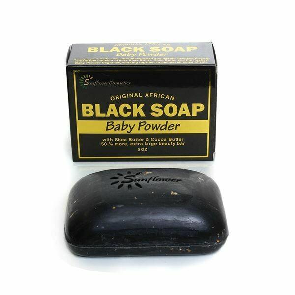 Baby Powder Black Soap