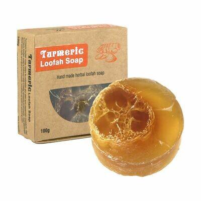 Turmeric Loofah Soap