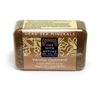 Vanilla Oatmeal Shea/Argan Soap