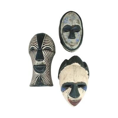 Small Congolese Passport Mask