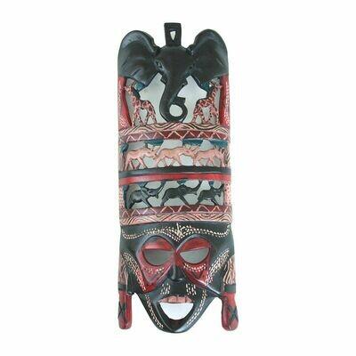 Animals Of Africa Maasai Mask (12-14