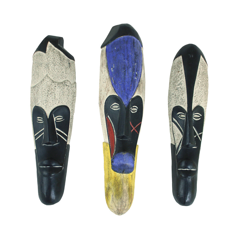 Cameroonian Color Fang Mask