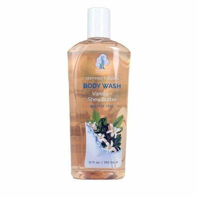 Vanilla & Shea Butter Body Wash