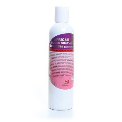 Lavender Liquid Black Soap