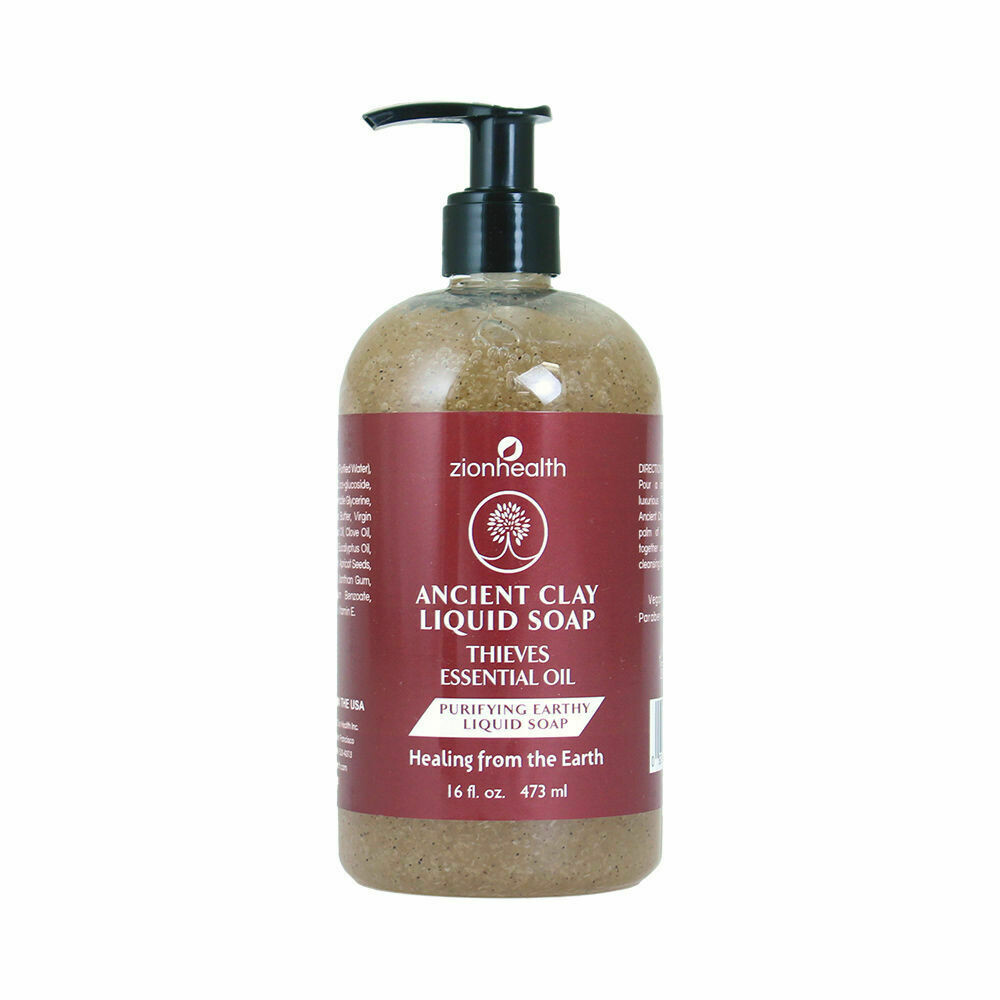 Thieves Oil Purifying Earthy Liquid Soap