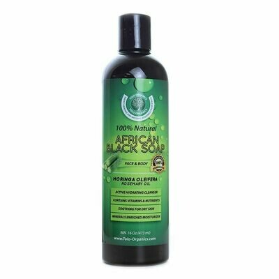 African Black Soap: Moringa