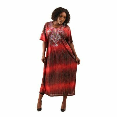 Royal Red Luxury Dress