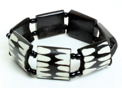 Afrocentric Bone Bracelet