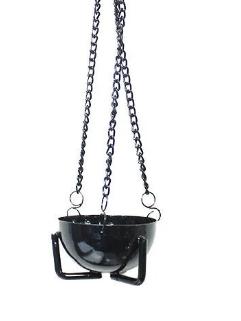 Black Iron Sage Burner Pot - Lg