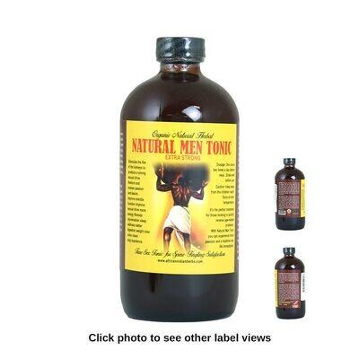 Organic Natural Men Tonic - 16 oz.