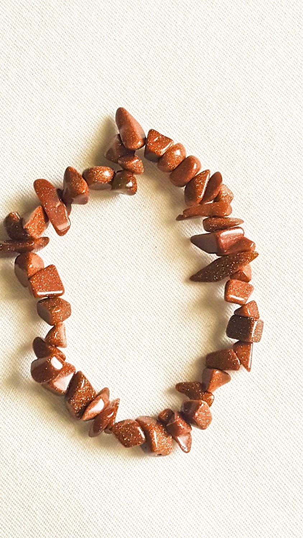 Gold Sandstone Bracelet