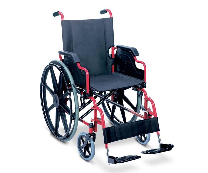 Basic Wheelchair - Detachable arm and leg rest