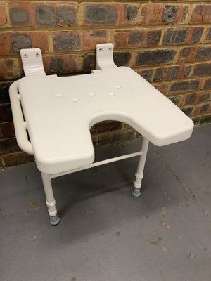 Shower bench - Wall mountable