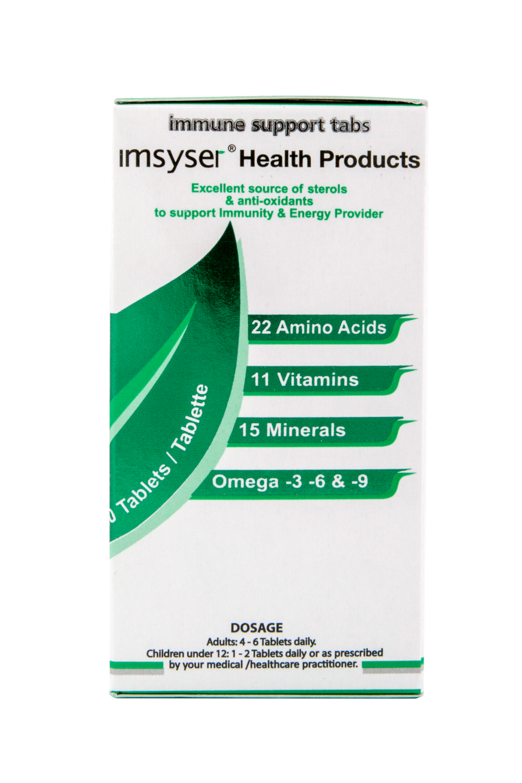Imsyser Immune System Stabilizer tabs 120's