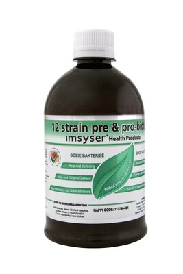 Imsyser 12 strain Pre & Probiotic 500ml