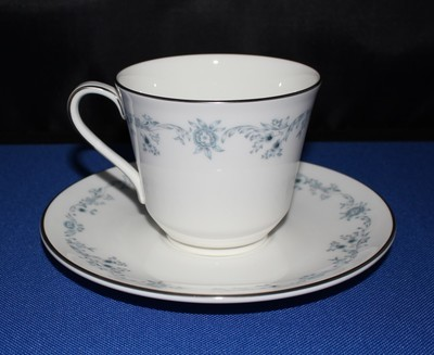Royal Doulton Angelique Cup and Saucer Plate English Bone Fine China H4997